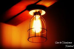 Designer's light installation