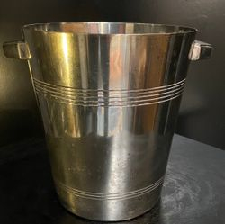 Champagne bucket signed Wiskemann