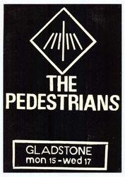 The Pedestrians at Gladstone