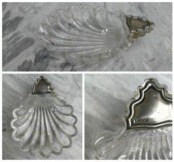 Antikvarinis indas puostas 800 prabos sidabru. Kaina 37