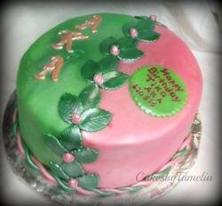 Pink and Green AKA Cake