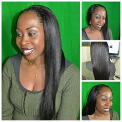 side part tree braids using xpression hair