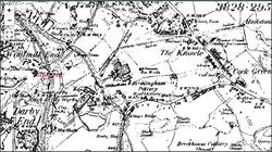 Rowley Regis,& Windmill End. c1884.