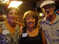 Claudia Duncan McGrath, LeAnn Argenta Eckart and Bob Albright