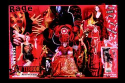 "November 30, 2003: Collage #10: ""Red Rage"""