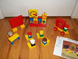 Lego Duplo Set #2645 Preschool (1980) - $20