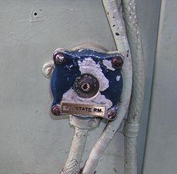 Pilothouse SP Phone Buzzer push button - Sept 2006