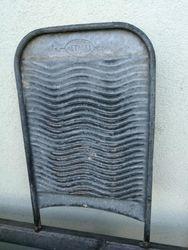 Fabriko Metalas skalbimo lenta. Kaina 26
