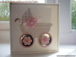 Sizzix Challenge - Baby Carriage
