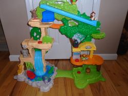 Fisher Price Little People Share & Care Safari Inertactive Playset - $45