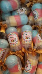 Circus cotton candy push pop favors