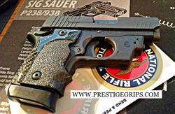 SIG SAUER P938 FINGER GROOVED TRUE TACTICAL Cut for C.T. Laser Attachment MOUNTED