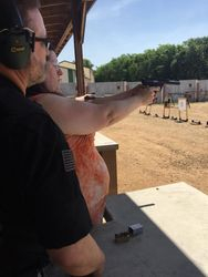 Range Safety training for the ladies