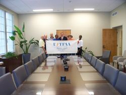 2017 UFTFAA meeting with UF President