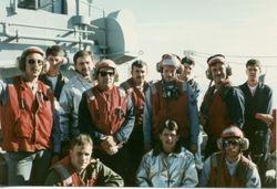 Flight deck Crash crew
