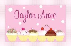 Sweet Cupcakes pink