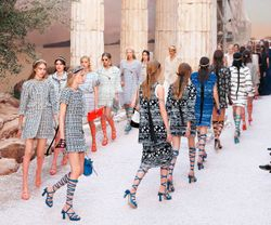Time Travel to Ancient Greece Catwalk