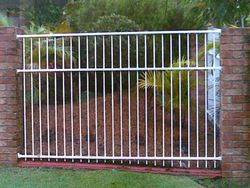 Vertical Bar Fence Panel