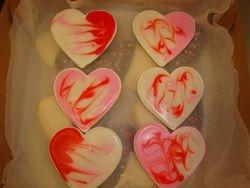 Tie Dye heart cookies $2.50 each