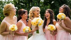 Our Stunning Bride Amanda and Her Bridemaids