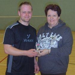 Handicap Tournament Mens Singles Runner Up