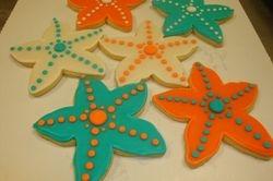 starfish cookies $3.50 each
