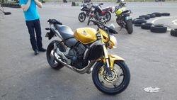new Honda cb600f Hornet