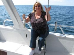 Yes, Carol can catch fish too!!