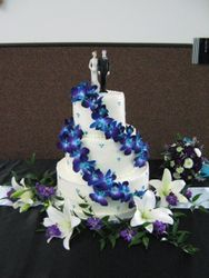 3-Tier with Orchids