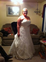 Andrea's Wedding Dress #3-4