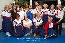 May 7, 2011 Visitation to Redland's B 'n' B's
