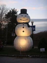 18' Talking Snowman