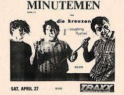 1985-04-27 Traxx, Detroit, MI