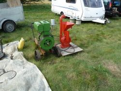 Stationary engine & mill