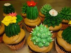 cactus cupcakes $4.50 each