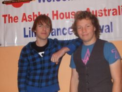 Mitch and Travis Tamworth 08