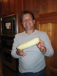 John loves corn.