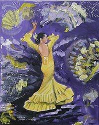 La Bailarina de Flamenco