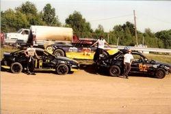 Quinn Racing Team Cars.