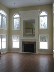 MDF Two Story Paint Grade Mantle