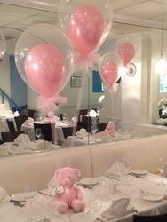 Double Stuffed Balloon Centerpieces