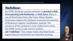 Nofollow - Real Estate SEO Short Definition