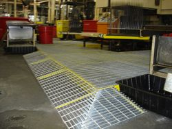 Installing Anti-slip surface in local Manufacturing Facility