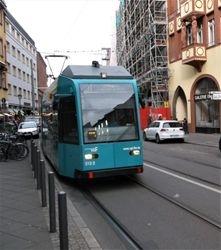 Duewag #018 on Braubachstrasse