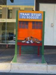 TRAM STOP  Hunter St Newcastle
