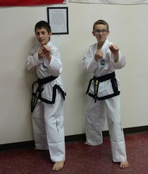Nick & Noah Promotion to 1st Degree