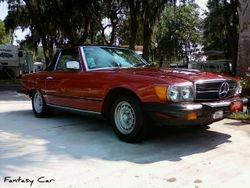 Bonnie --------Mercedes 380SL