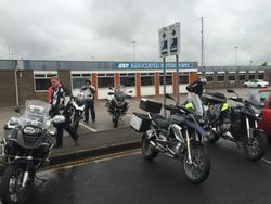 At the Hull Ferry port
