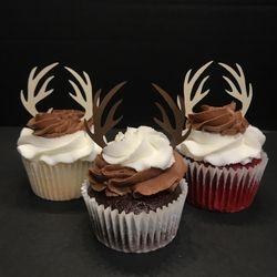 Antler Cupcakes