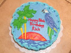 Tropical/ Parrot Cake